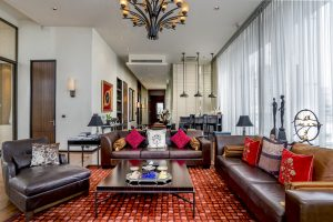 The boutique and luxury Penthouse suite 1 at VIE Hotel Bangkok